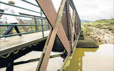 Próxima restauración del Puente de Solía