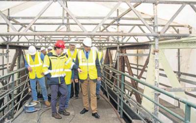 El puente de Solía duplicará su anchura para facilitar el tránsito